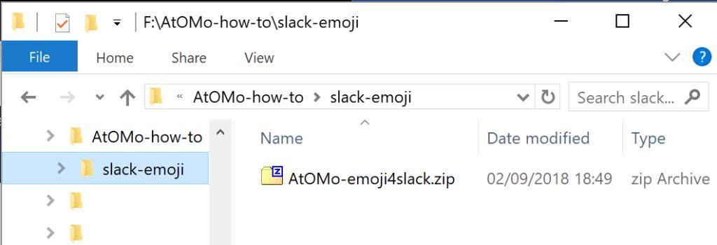 AtOMO how 2 emoji 4 slack - 1