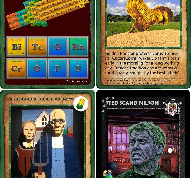 Some Cards for Bitcorn Crops & Mafia Wars